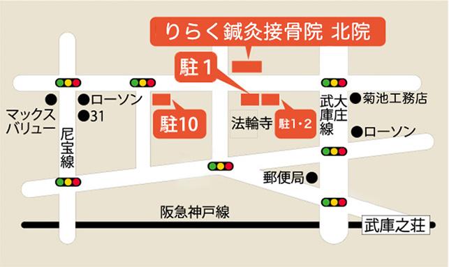 MAP 駐車場